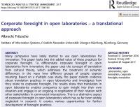 "Zum Artikel ""What is really going on in open labs? A new wi1 journal publication"""
