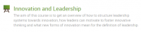 "Zum Artikel ""Registration for Innovation & Leadership is open"""